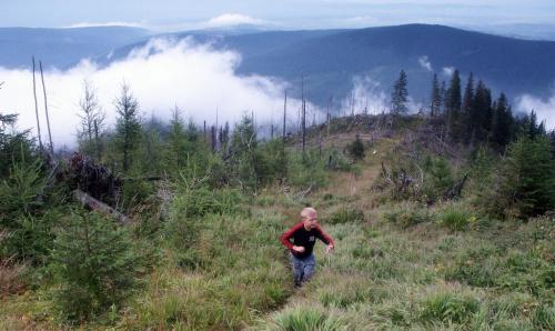 Furkaska - prawie jak w niebie #góry #masyw #mountain #Tatry #Zachodnie #Furkaska #chmury #niebo
