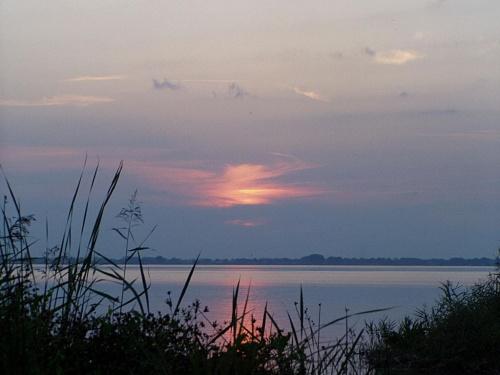 Moje ulubione miejsce nad jeziorem Miedwie #chmury #niebo