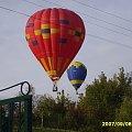 Balony na nad moim niebem ;) #balon #balony #niebo #Nałęczów